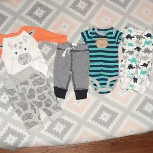 Newborn Little Boy Clothes Lot